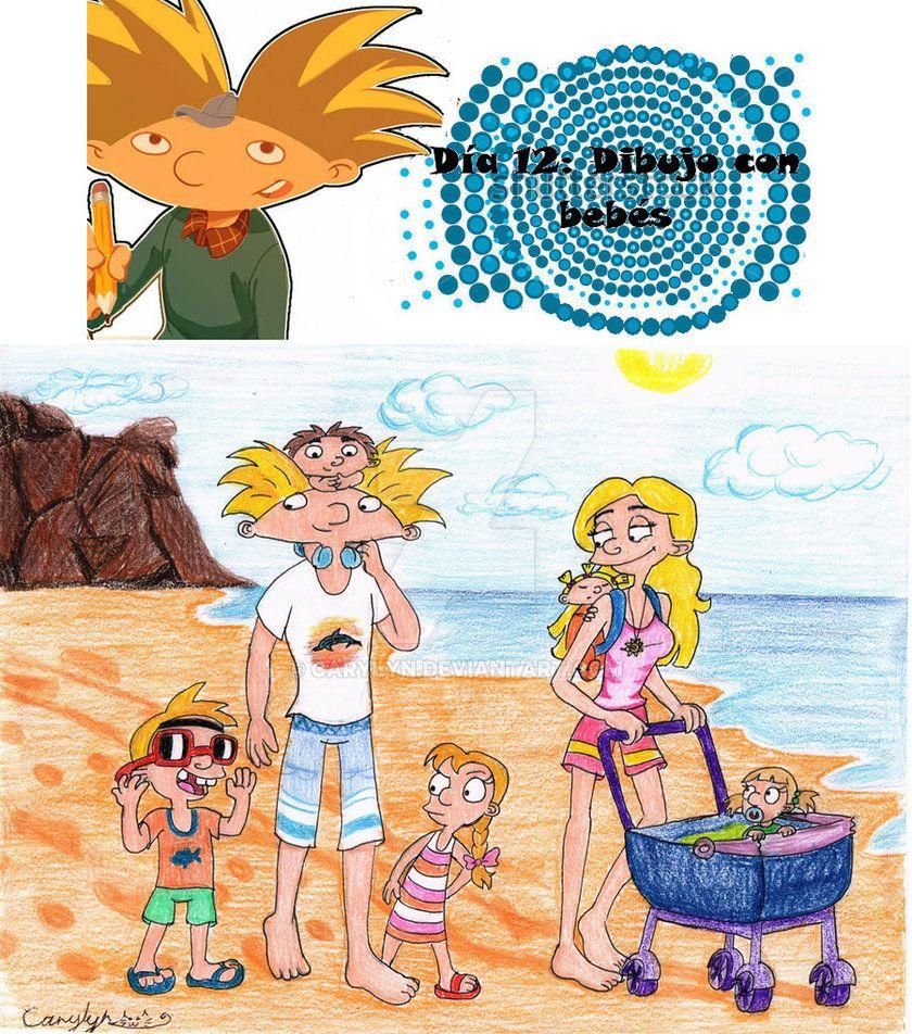 Dia 12- Caminata Por La Playa By Carylyn  90S Cartoon -7546