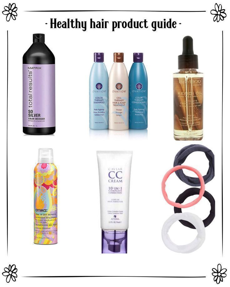 Healthy Hair Product Guide