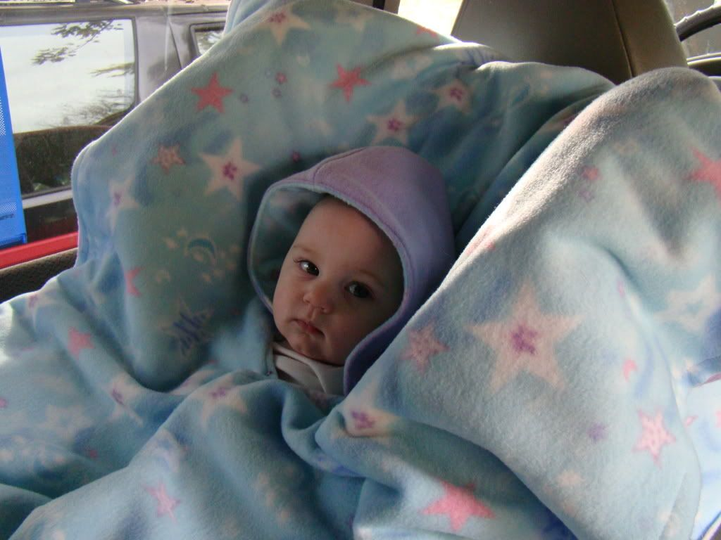 Directions For A Fast Simple Car Seat Poncho Sewing