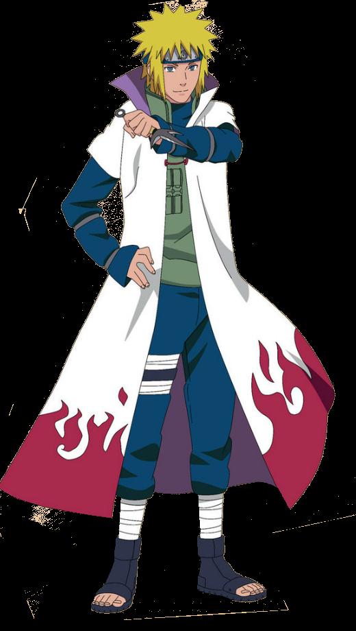 Minato Namikaze Render by azurie77 Naruto, Manga, Gấu trúc