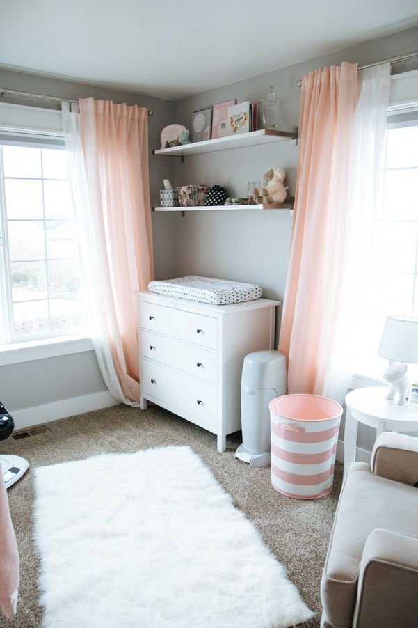 C And Gray Modern Nursery As Part Of Week On Peemodernlife