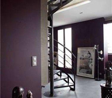 Du Prune pour la déco de lu0027entrée du0027un appartement style loft - deco entree d appartement