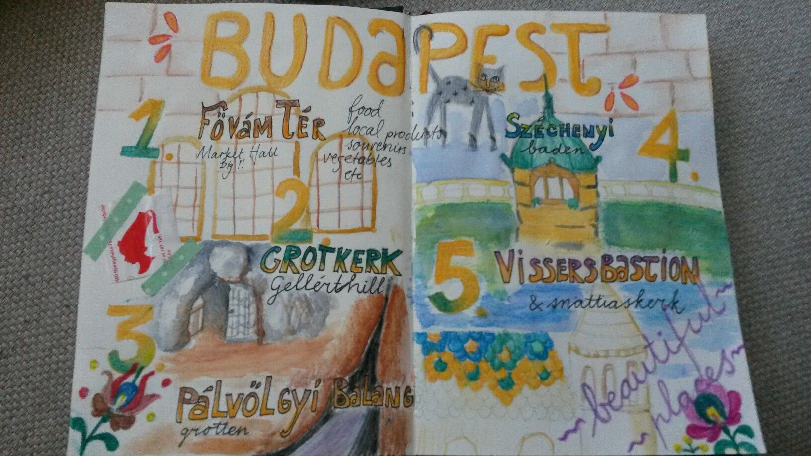 Such a beautiful city is Budapest. I Such enjoying this gorious place.  #artjournal #newentry #mixedmedia #larimaresart #pencil #aquarel #budapest #beautifuldestinations #ajss2016