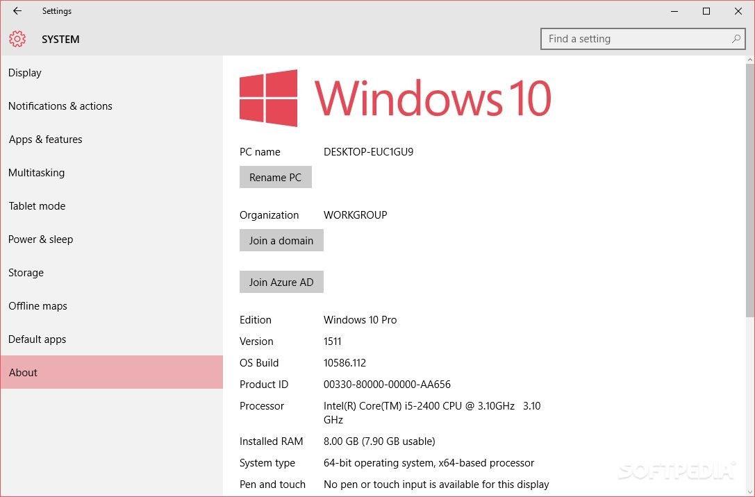 Windows 10 como actualización recomendada