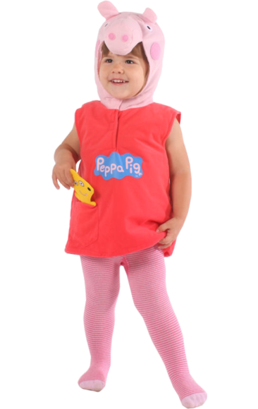 Kids Peppa Pig Tv Costume Peppa Pig Fancy Dress Peppa Pig Costume Pig Costumes