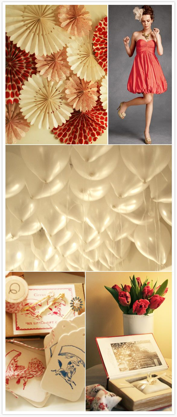 I love the white balloon ceiling @Valerie Avlo Williams | Ideas ...