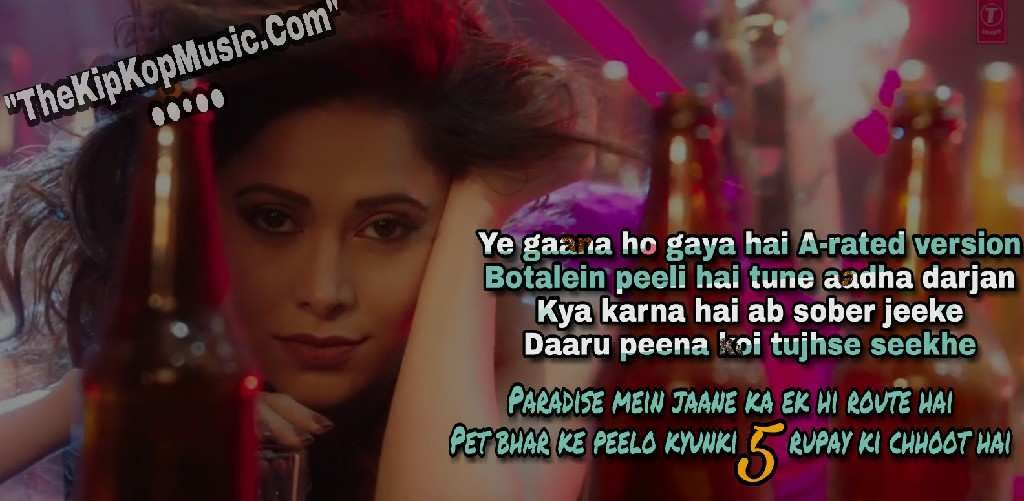 Chhote Chhote Peg Full Mp3 Song Download Listening Online Soundcloud Gaana And Hd Youtube Video Images Sony Ke Song Lyric Quotes Lyric Quotes Bollywood Songs