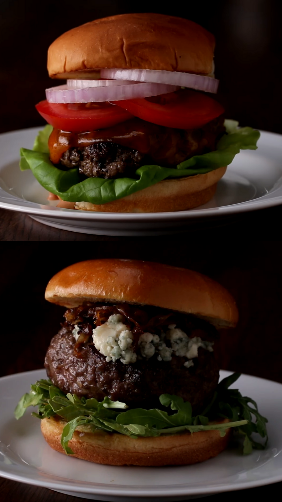Eazy Homemade Burgers So Easy To Prepare And So Delicious Burger Bar Bobs Burgers Fast Food Homemade Burgers Homemade Beef Burgers Homemade Burgers Food