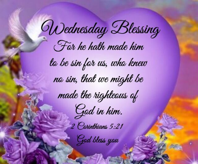 Image result for wednesday blessings and bible verses