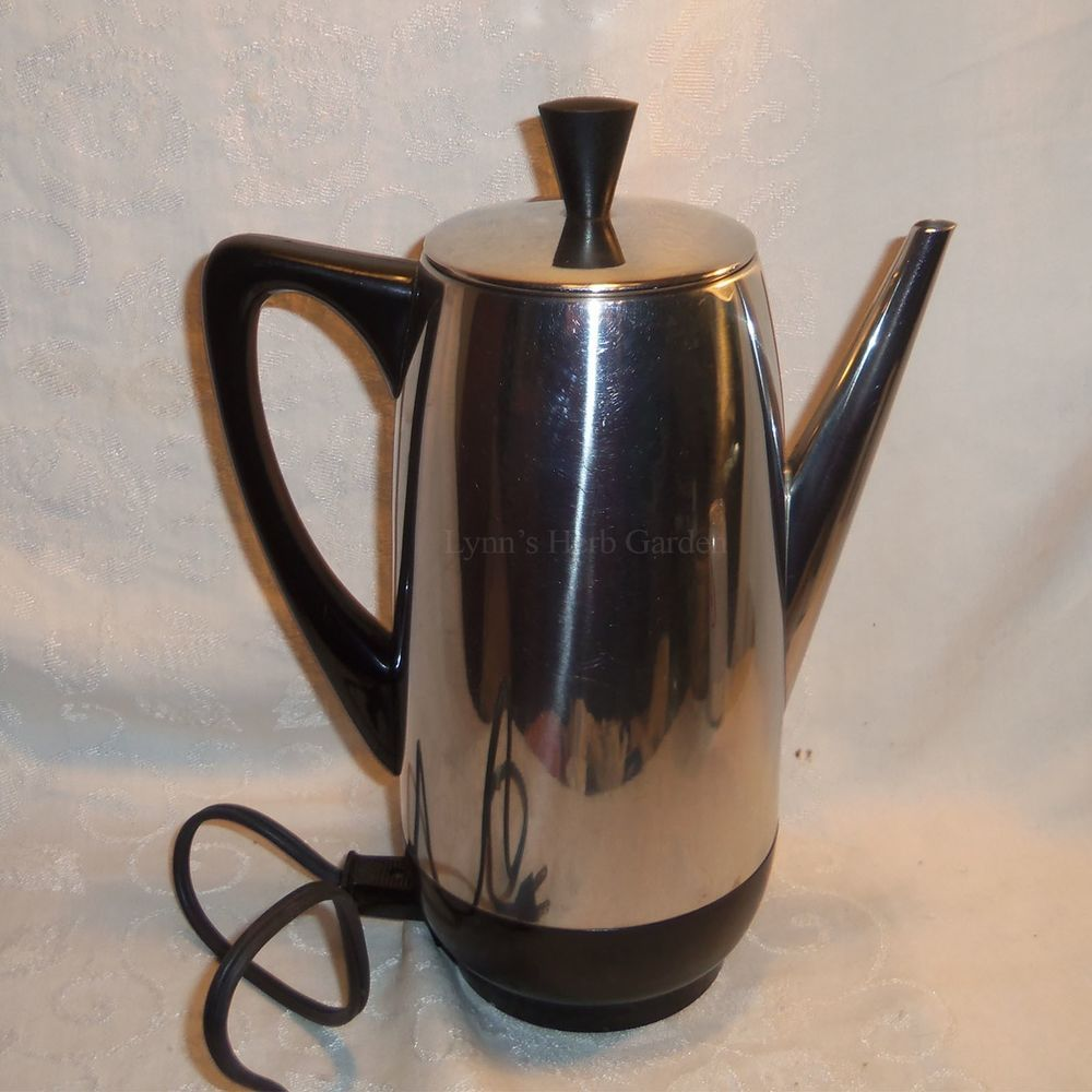 Farberware 122 B Superfast Electric Percolate Coffee Pot Percolator Coffee Coffee Pot Coffee