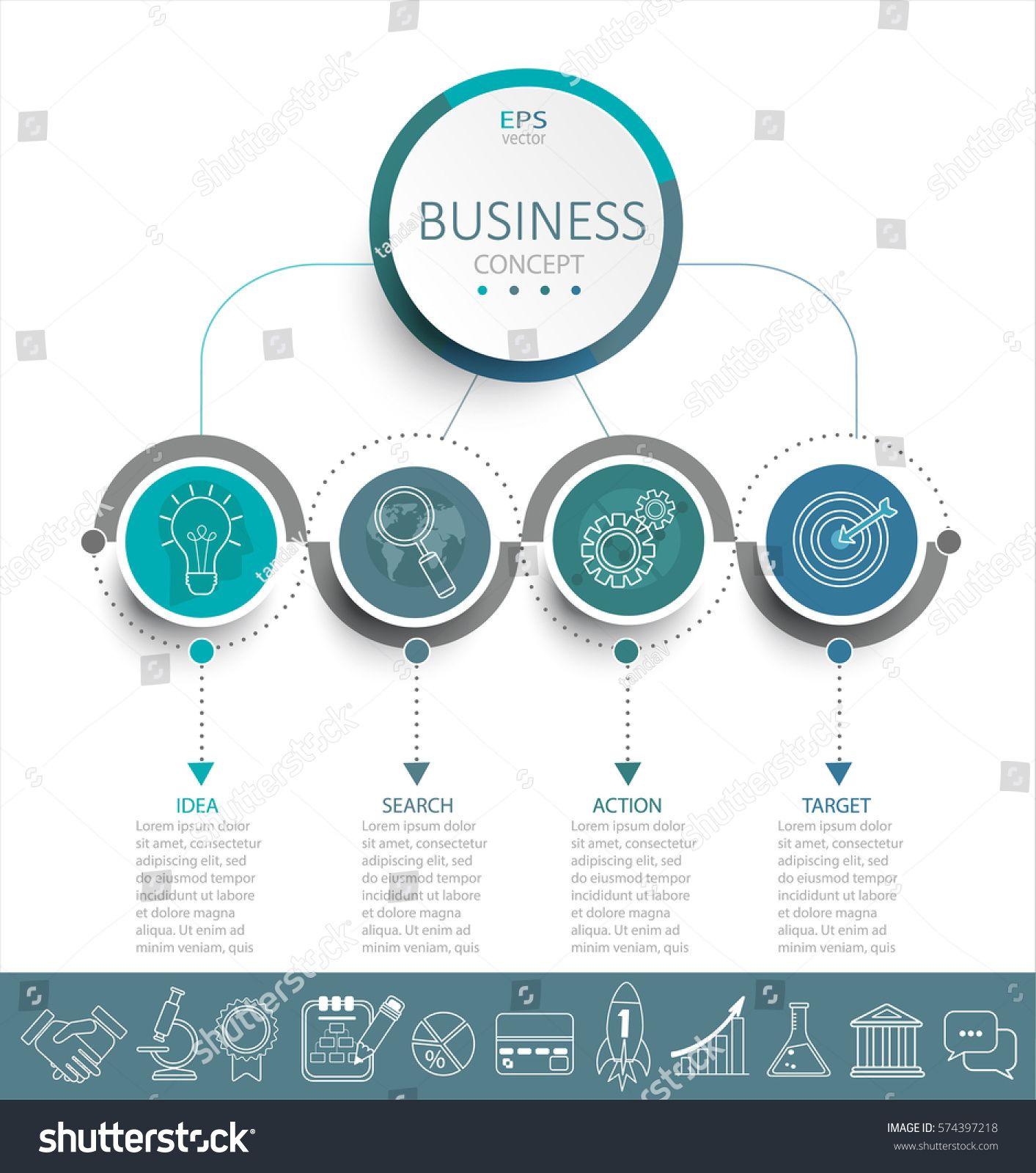 Arrow Infographic/flowchart | Arte y Diseño Gráfico | Pinterest ...