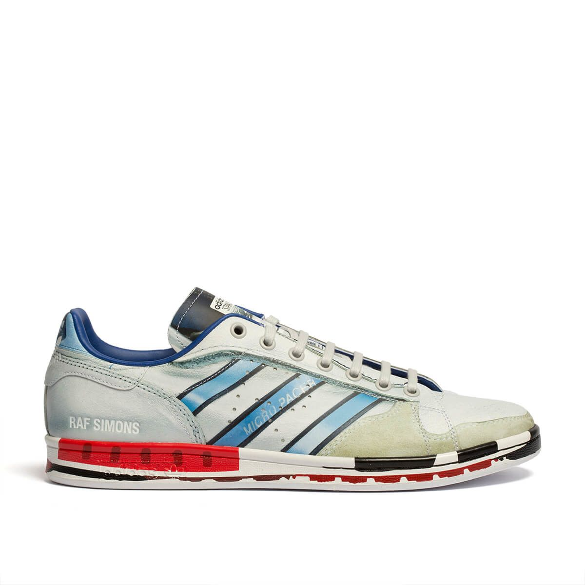 6d785cb35 Micro Stan sneakers from the S S2019 Raf Simons x Adidas collection in  multicolor