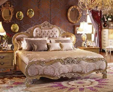 Yuan Tai Monet 5 Piece Bedroom Furniture Set King Bedroom Sets