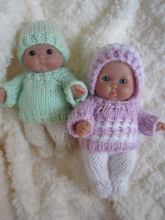 Doll Clothing Knit Pattern Berenguer Baby Doll Boy And Girl Sweater