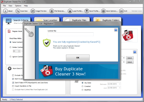 Duplicate cleaner pro key Download Newest Version