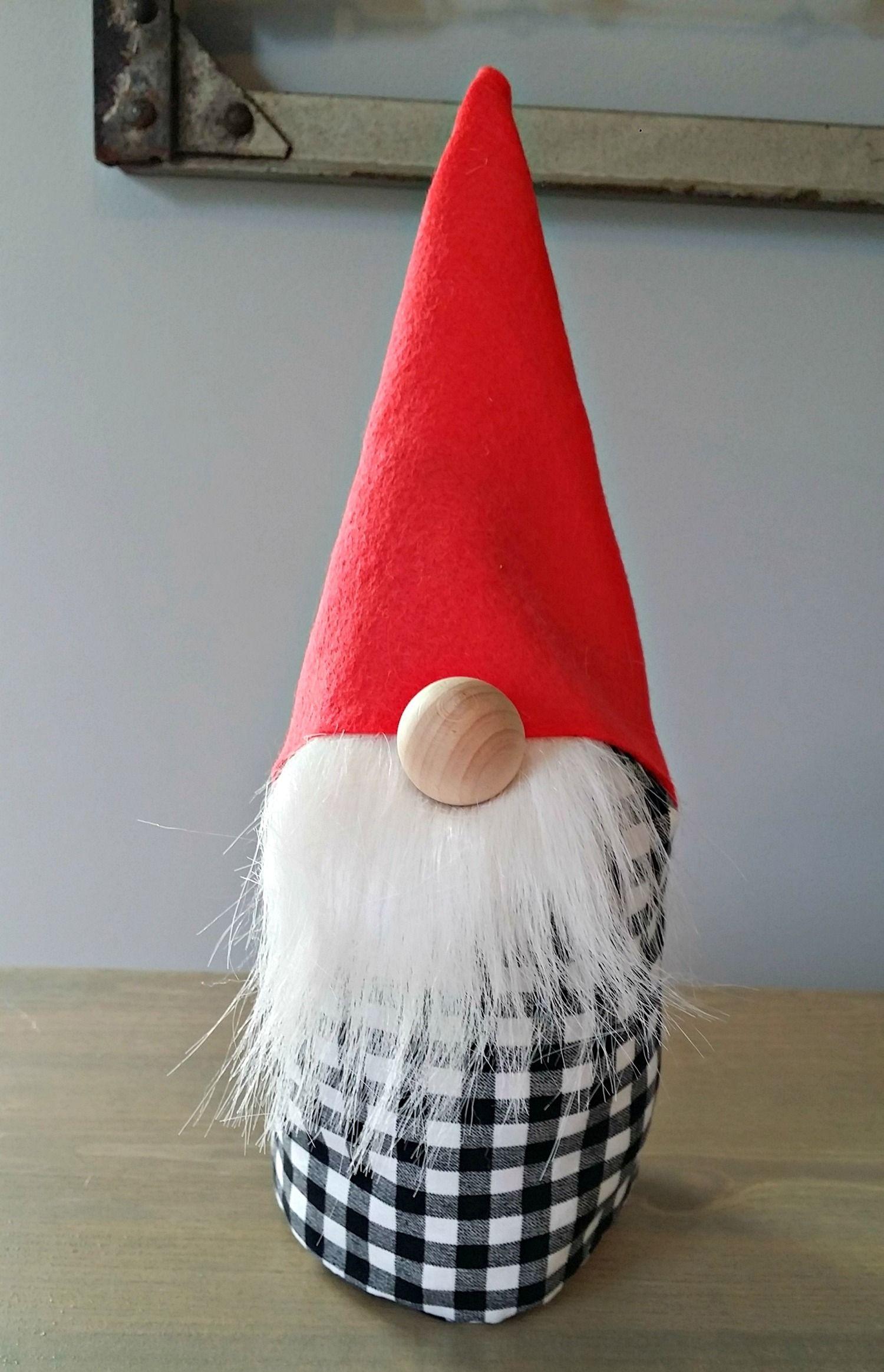 How to Make a Gnome Gnome tutorial, Christmas crafts