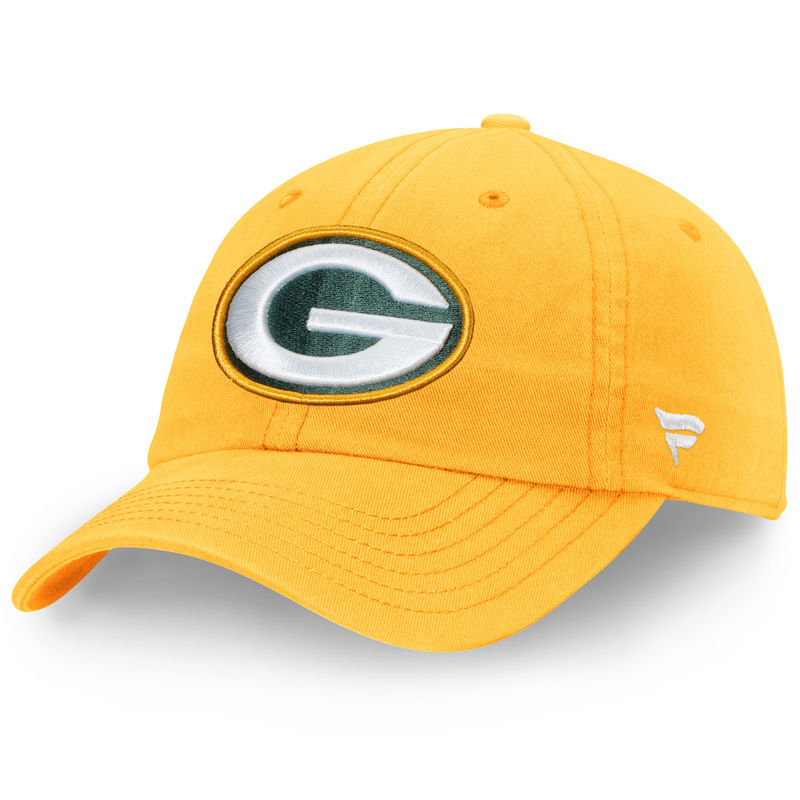 ee328f20f3936c Green Bay Packers NFL Pro Line by Fanatics Branded Team Fundamental Adjustable  Hat – Gold