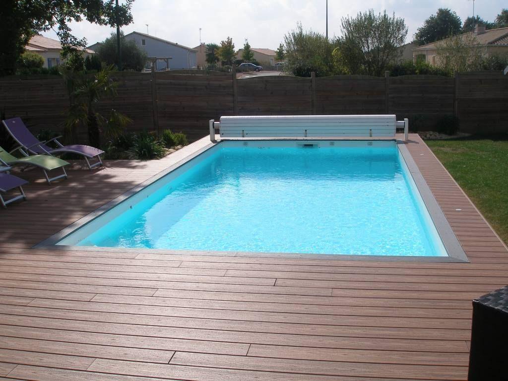 piscine 7x3.5 liner gris Recherche Google Jardin