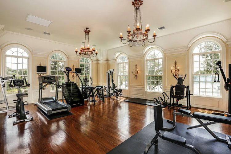 Luxury gym ideas for your home luxury kitchens in home