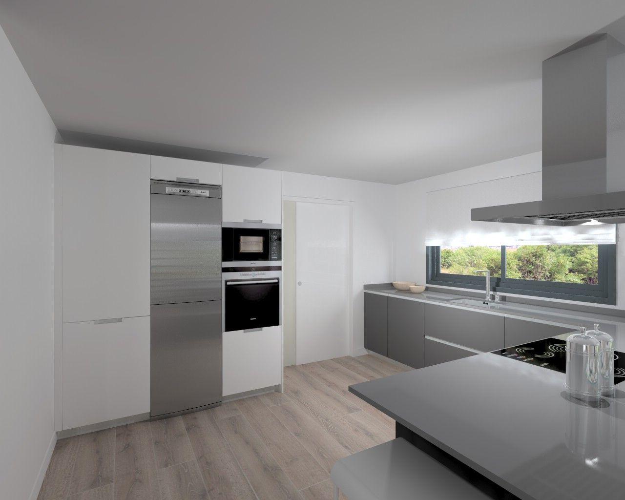 Madrid | Cocina Santos | Modelo Line | Encimera Silestone ...