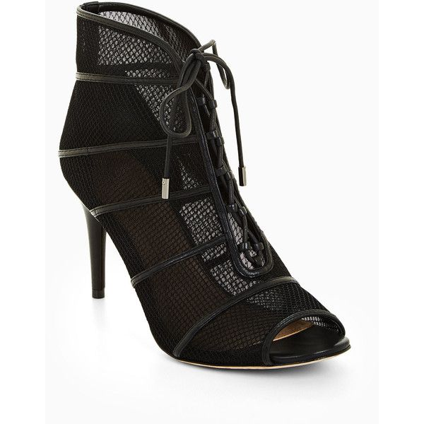 0e9f5cbf8ce7 BCBGMAXAZRIA Becks Lace-Up Bootie ( 268) ❤ liked on Polyvore featuring  shoes