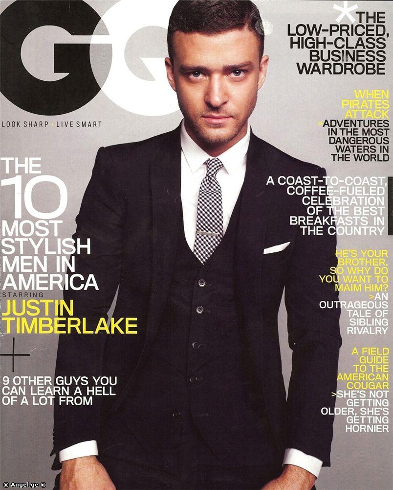 Timberlake justin most stylish man catalog photo
