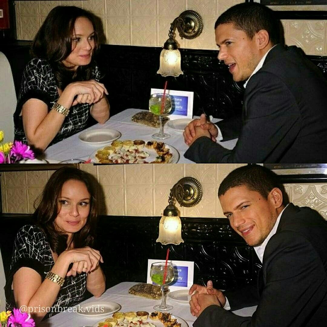 Wentworth Miller And Sarah In 2019