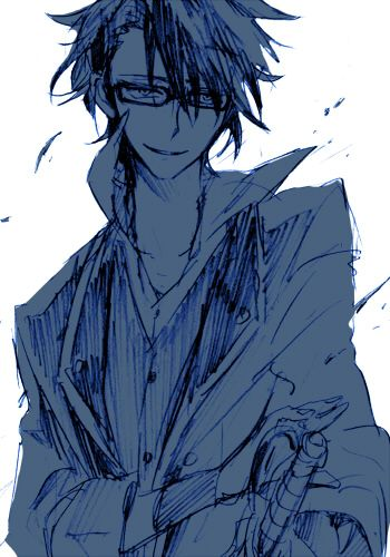 Fushimi Saruhiko... look at that smug bastard. Joinin' up with the greens. WHY U DO DIS MONKEY? WHY