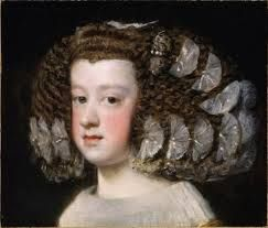 """Maria Theresa of Spain (Spanish: María Teresa; French: Marie-Thérèse; 10 September 1638 – 30 July 1683) was Queen of France and Navarre, the first wife of King Louis XIV, and  the mother of """"The Negroid Nun of Moret'."""