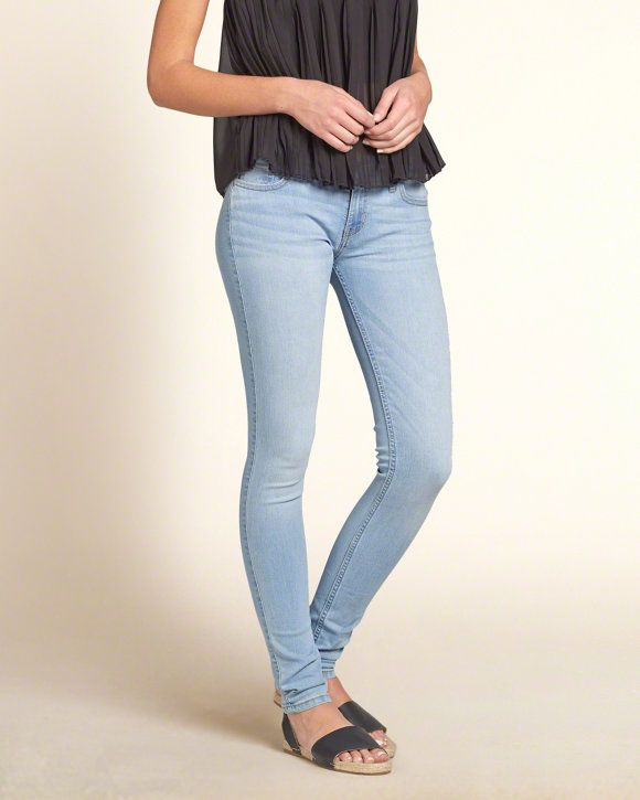 Hollister Jeans for Girls Light Wash