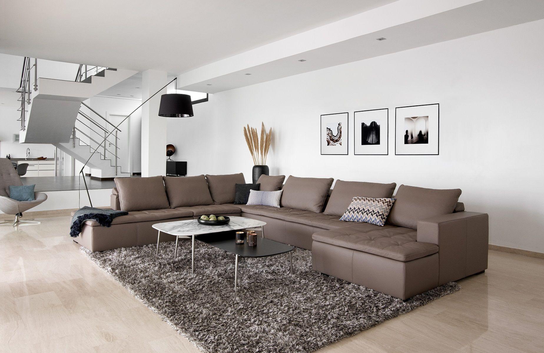 stunning living room. mezzo sofa. boconcept | living | pinterest