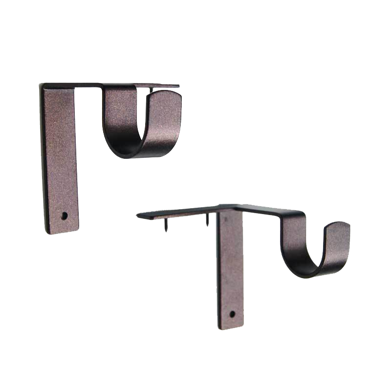 Single Curtain Rod Brackets Hanging Curtain Rods Curtain Rod