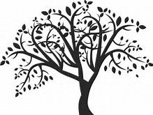 picture about Printable Tree Stencil known as Graphic final result for Tree Stencil Printable CNC Layout Tree
