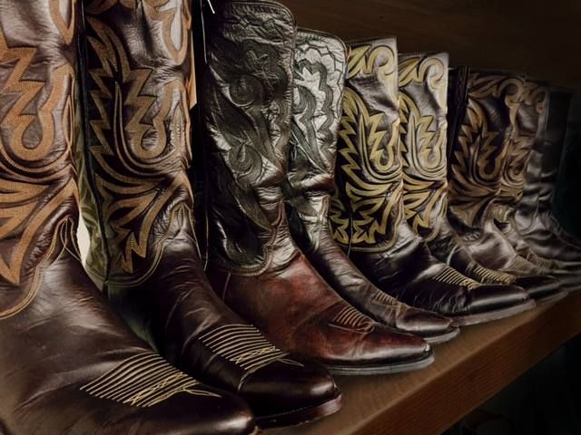 91fa069faeb Did you know....John Wayne had his boots made by Lucchese Boot ...