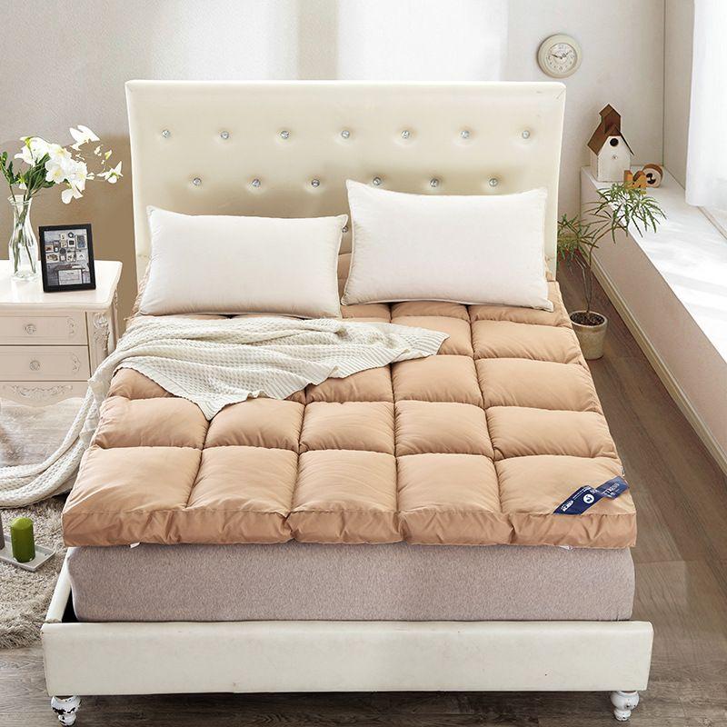 Katlanır kalın kadife tüy yatak stereo uygula Otel ev Tatami mat ...