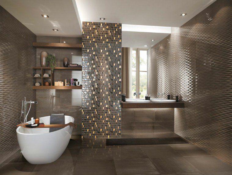 Idée carrelage salle de bain d\'inspiration design | Salles de ...