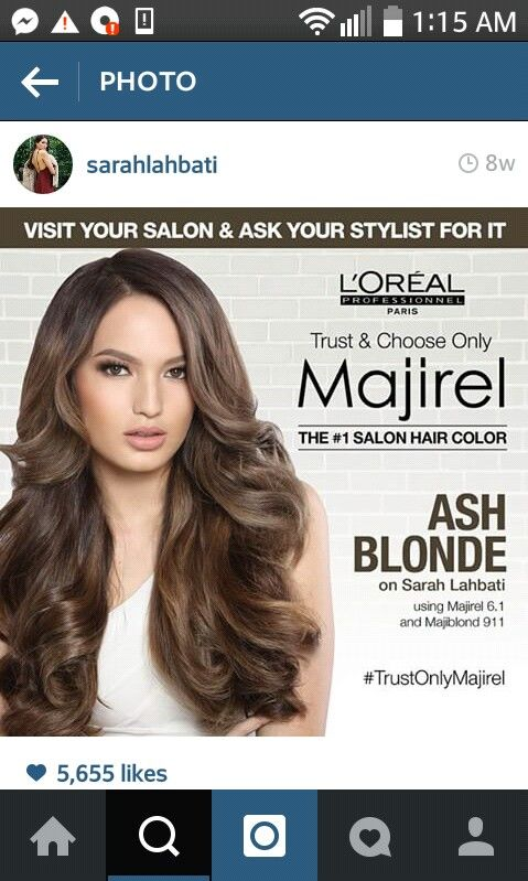 6 11 Majirel Cool Cover Review In 2021 Loreal Hair Color Salon Hair Color 2015 Hairstyles