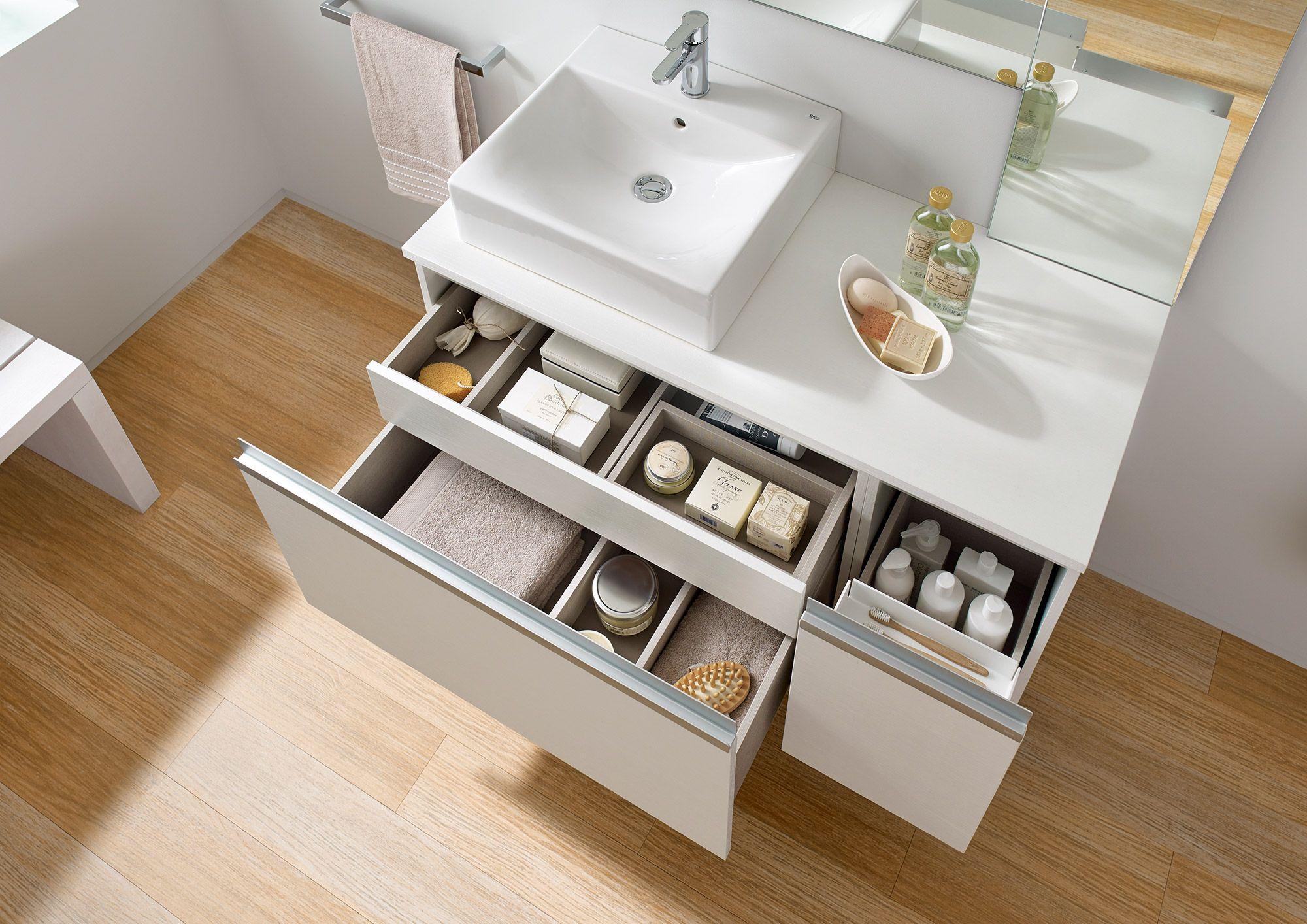 Un mueble de baño Roca a tu medida | baños modernos | Baños, Baños ...
