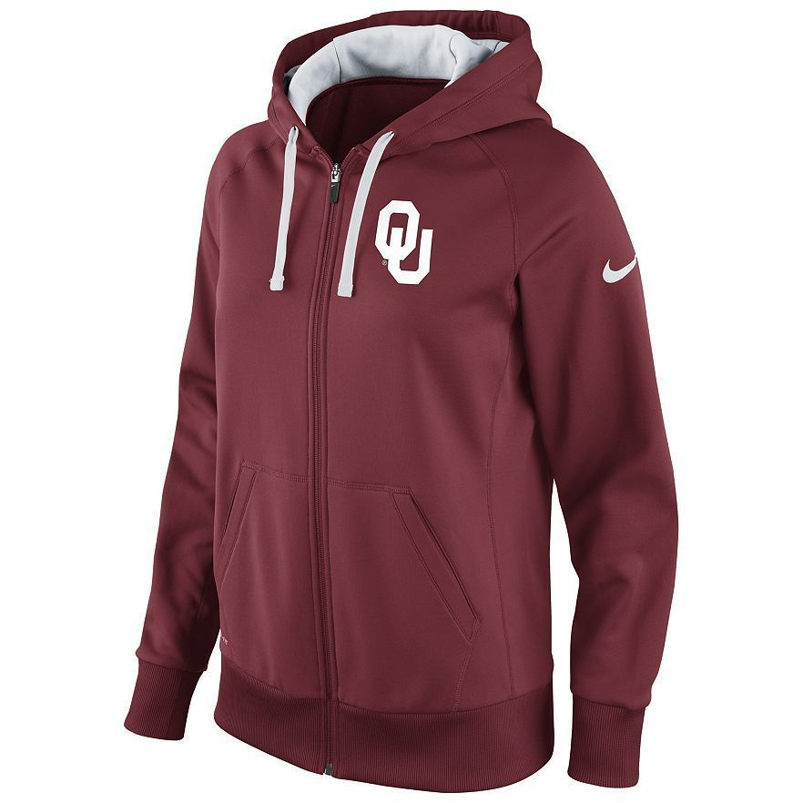 Nike Oklahoma Sooners Therma-FIT Hoodie - Women's Size xsmall ADULT #Nike  #ShirtsTops