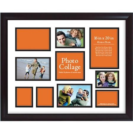 Photo Collage Frame, 16x20 - Walmart.com | 11818 Blanchet Drive ...