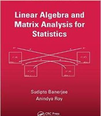 Linear Algebra And Matrix Analysis For Statistics PDF | books