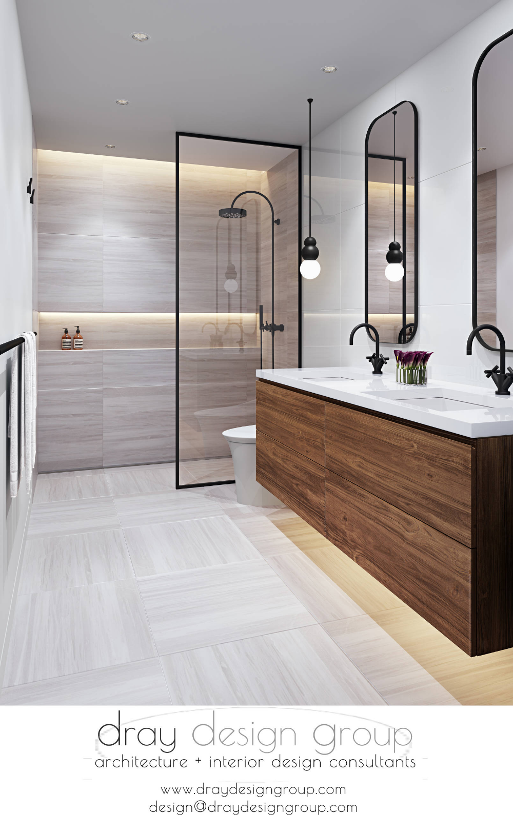 Miami Shores Residence | Matte black bathroom fixtures ...