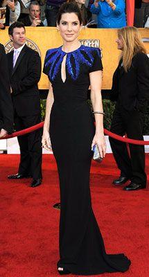 Sandra Bullock in McQueen - SAG 2010