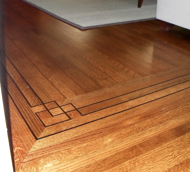 Transition Wood Floor To Tile Ideas: Decorative Borders For Wood To Tile Floor Transition