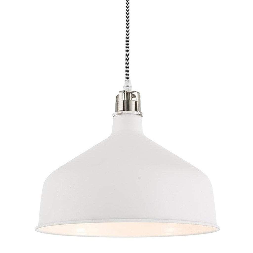 Modern pendant light whitesilver products pinterest pendant
