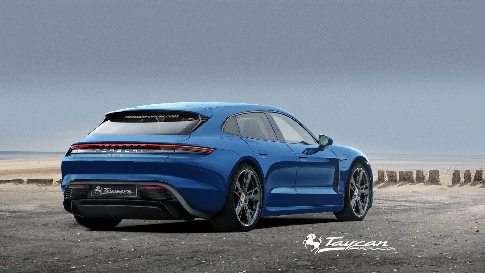 2020 Porsche Taycan Sport Turismo Ev Auto S En Motoren Motor Auto S