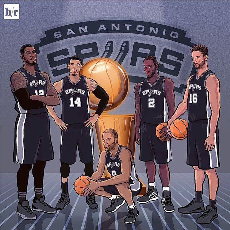 Full Squad Tonight For The First Time This Season Mightbe Letsgetontrack Gsg Spurs Basketball San Antonio Spurs Nba Artwork