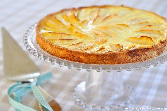 Photo of Französische Apfeltarte Grundrezept (Tarte aux pommes) | Rezept | Französisch kochen