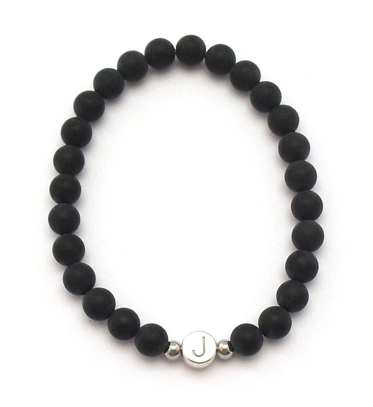 niedriger Preis gutes Angebot niedrigster Rabatt Partnerarmband mit schwarzen Perlen kaufen. Partnerarmbänder ...