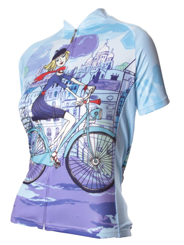 b09931d99 Riding in Paris Women s Cycling Jersey - FREE SHIPPING - http   www.